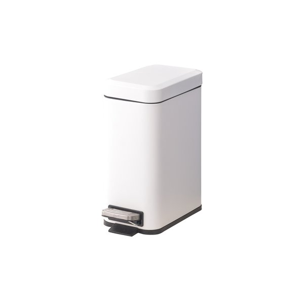 トラッシュカン ゴミ箱 5L ふた付き キッチン ダストボックス 分別ゴミ箱 棚 シンプル おしゃれ 収納 スリム 縦型 四角 新生活 滑止め アソート可 小箱入 一個|bestarone|10
