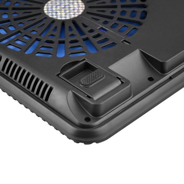 BTCPN2BL ノートパソコン 冷却台 ノートPC クーラー パッド 冷却ファン 搭載 冷え冷え シート 11.6〜17インチ対応 BTCPN2BL  BESTEK|bestek|04