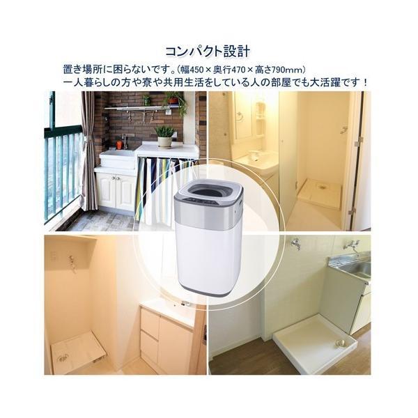 洗濯機 一人暮らし 3.8kg 小型 抗菌パルセーター 家庭用 ミニ洗濯機 格安 激安 小型洗濯機 BTWA01 BESTEK 送料無料|bestek|03