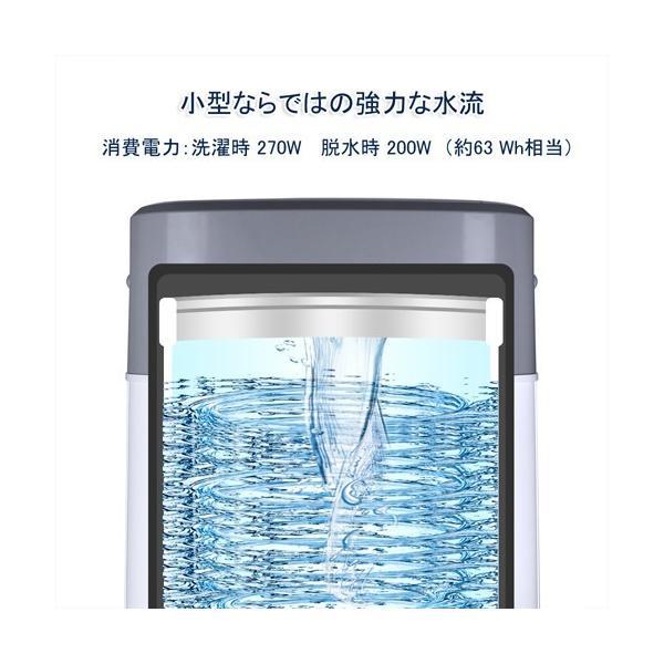 洗濯機 一人暮らし 3.8kg 小型 抗菌パルセーター 家庭用 ミニ洗濯機 格安 激安 小型洗濯機 BTWA01 BESTEK 送料無料|bestek|05