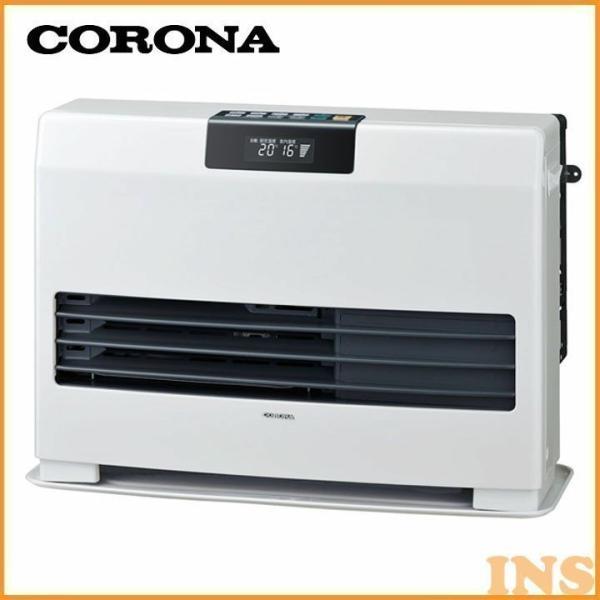 FF式 石油暖房機 温風ヒーター タフバーナ ナチュラルホワイト FF-WG40SA-W コロナ (D)