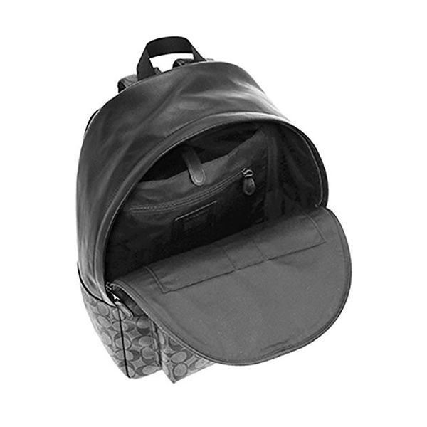 コーチ COACH リュックサック バッグ シグネチャー バックパック F55398 CQ/BK チャコール×ブラック [並行輸入品]