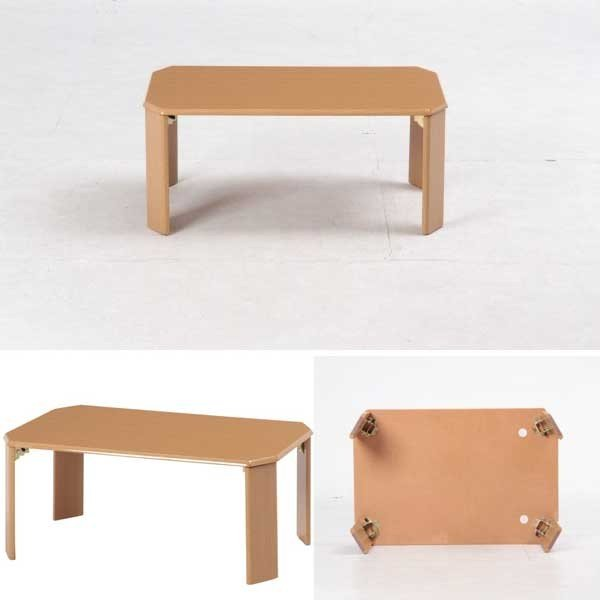 折りたたみテーブル テーブル 折りたたみ 座卓 ローテーブル 幅75|bestline|02