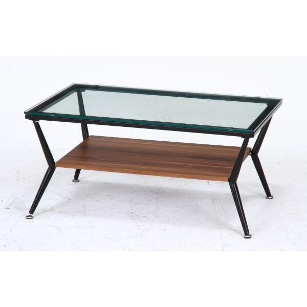 ガラスリビングテーブル クレア ダークブラウン ローテーブル テーブル おしゃれ|bestline