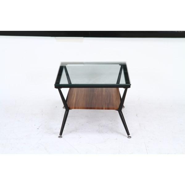 ガラスリビングテーブル クレア ダークブラウン ローテーブル テーブル おしゃれ|bestline|02