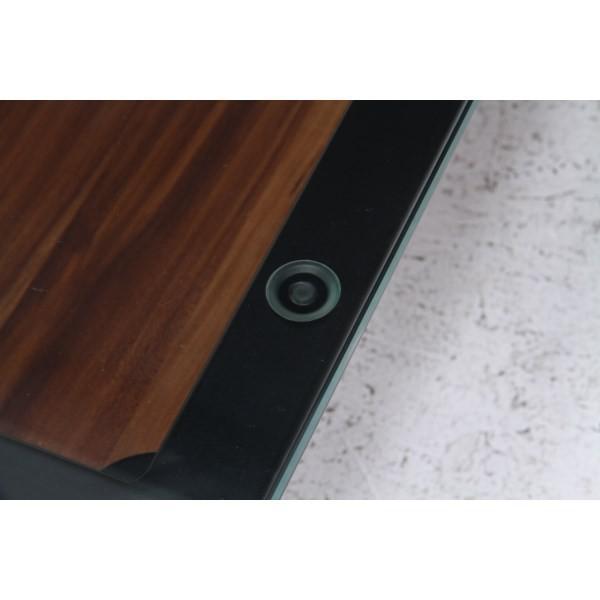ガラスリビングテーブル クレア ダークブラウン ローテーブル テーブル おしゃれ|bestline|04