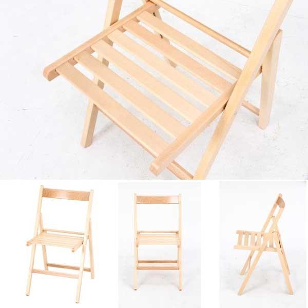 フォールディングチェア 木製 スツール 折りたたみチェアー 木製チェア 椅子|bestline|02