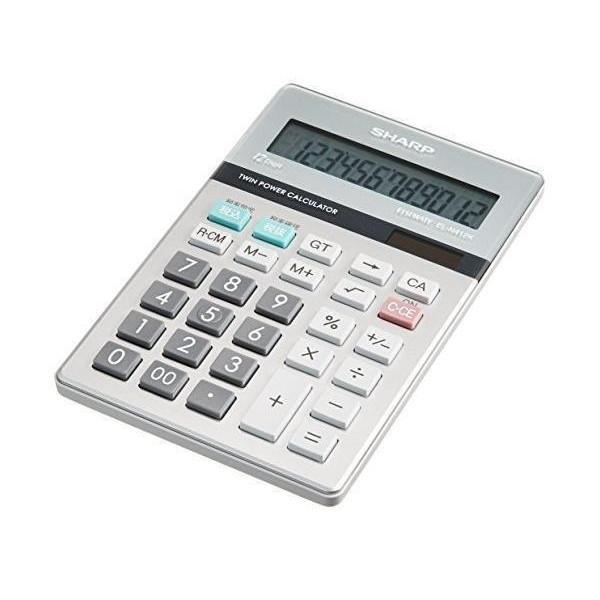 シャープ EL-N412K-X 実務電卓 ナイスサイズ SHARP