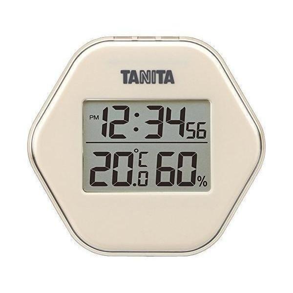 タニタ TT-573-IV 温度計・湿度計 アイボリー デジタル デジタル温湿度計 TANITA