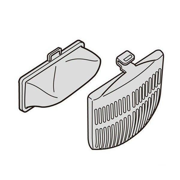 HITACHI NET-K8KV 日立 NETK8KV 洗濯機用 糸くずフィルター カバー 2個入