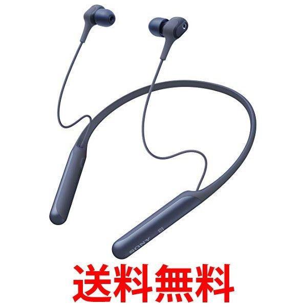 ソニー Bluetoothヘッドホン WI-C600N LM ブルーの画像