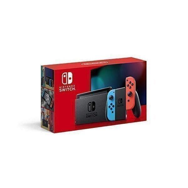 Nintendo Switch 本体 Joy-Con(L) ネオンブルー/(R) ネオンレッド(バッテリー持続時間が長くなったモデル)