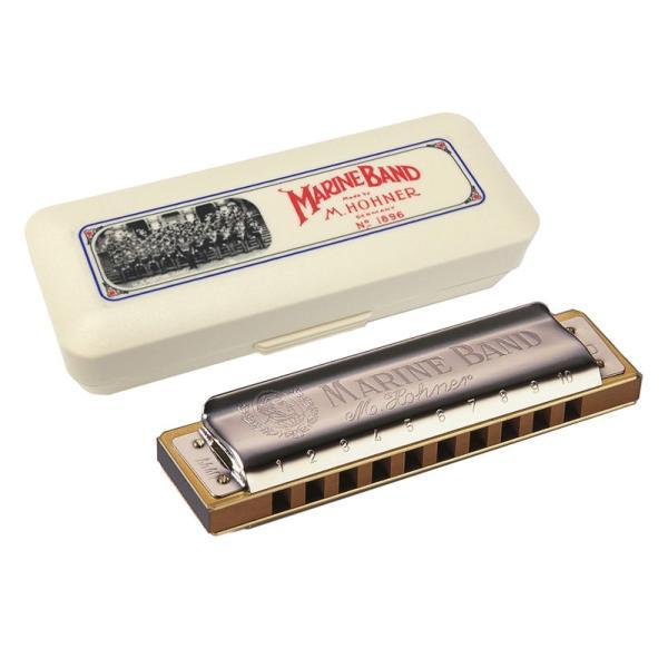 1896 / 20 / MARINE BAND / 10穴 テンホールズ / キー:A / スモールボックス 【その他楽器/ハーモニカ】HOHNER / ホーナー