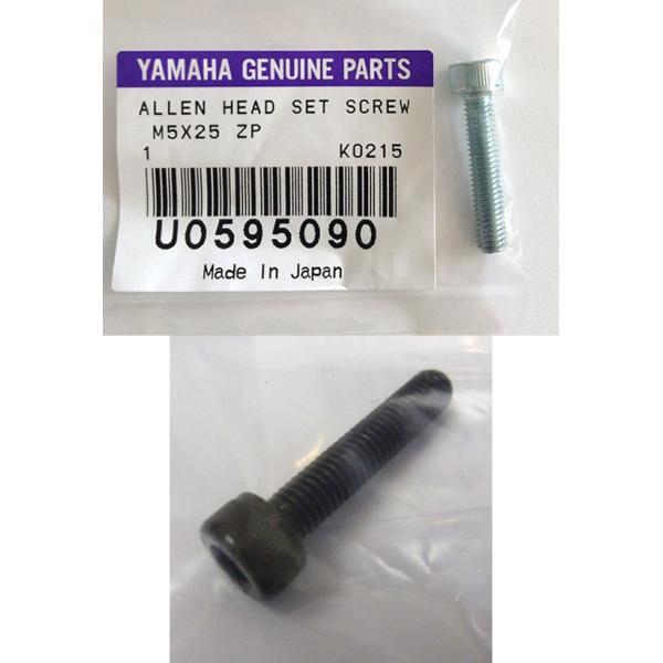 U0595090 / 6角穴付ボルト(M5x25)ZP /  YAMAHA(ヤマハ)ドラムパーツ