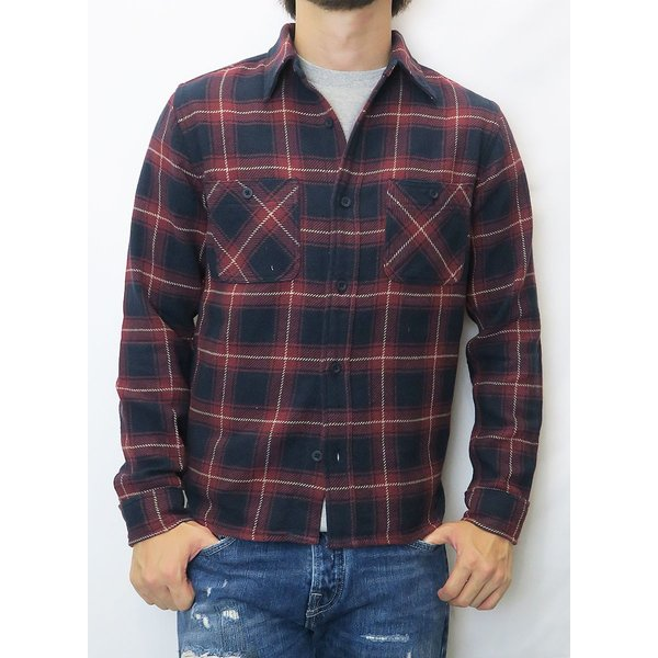 FIVE BROTHER/ファイブブラザー HEAVY FLANNEL WORK SHIRTS 3Color|bethel-by|04