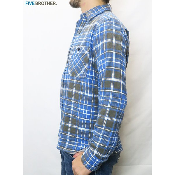 FIVE BROTHER/ファイブブラザー HEAVY FLANNEL WORK SHIRTS 3Color|bethel-by|08