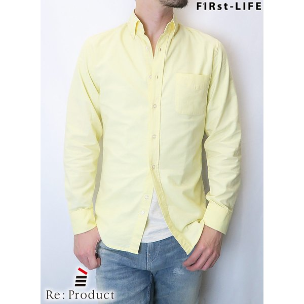 F1Rst LIFE/ファーストライフ ボタンダウンシャツ 全4色|bethel-by|03