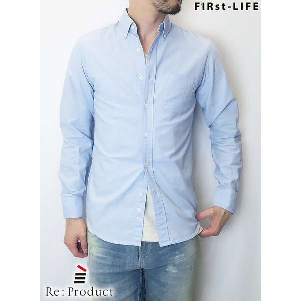 F1Rst LIFE/ファーストライフ ボタンダウンシャツ 全4色|bethel-by|04