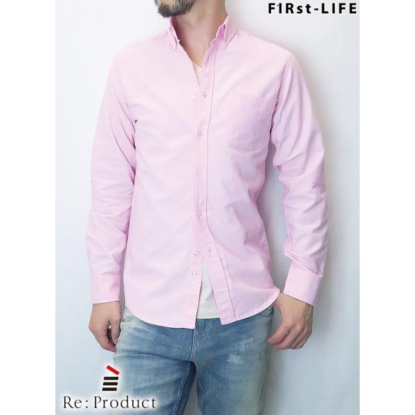 F1Rst LIFE/ファーストライフ ボタンダウンシャツ 全4色|bethel-by|05