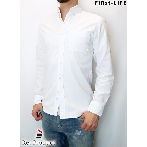 F1Rst LIFE/ファーストライフ ボタンダウンシャツ 全4色|bethel-by|06