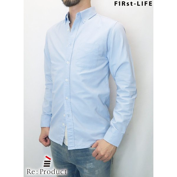 F1Rst LIFE/ファーストライフ ボタンダウンシャツ 全4色|bethel-by|08
