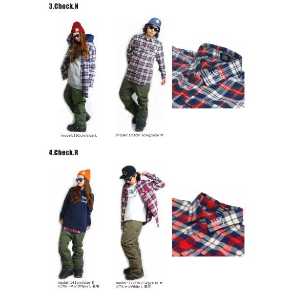 BANPS シャツ 15-16 SLANT POCKET SHIRT スラントポケットシャツ ジップポケット  ウェア スノボ スキー メンズ レディース BANPSSNOWBOARDING|betties-shop|03