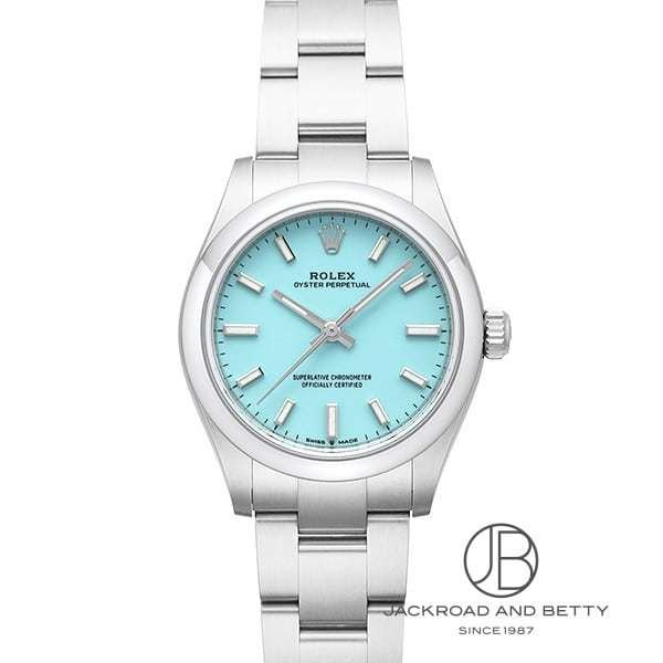 ロレックスROLEXオイスターパーペチュアル277200新品時計レディース