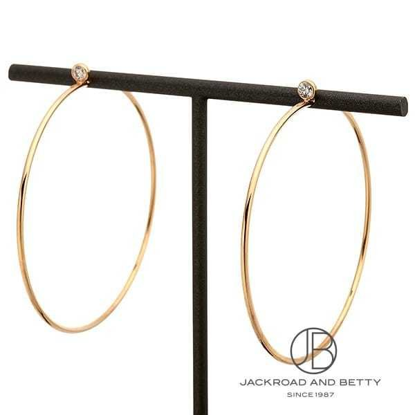 ティファニー TIFFANY&CO. エルサ・ペレッティ ダイヤモンド フープ ピアス 68280656 新品 ジュエリー ブランドジュエリー