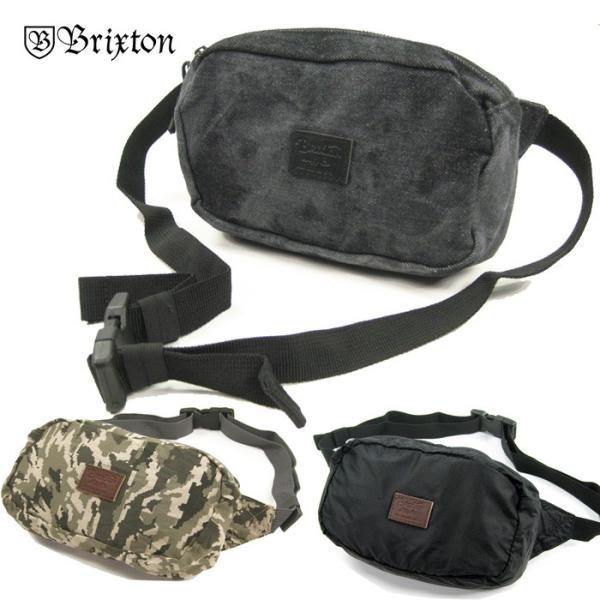 BRIXTON STEWART HIP PACK  ブリクストン ウェストポーチ ウェストバッグ 男女兼用 メール便対応可/BRIX355