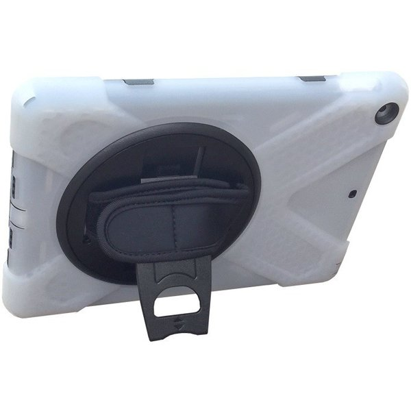 耐衝撃・簡易防塵 iPad(第6世代・第5世代)9.7インチ専用シリコンカバーケース ストラップ・ハンドベルト付き|bfd|05