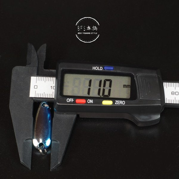 3g × 6個 セット 6色スプーン 格安 ルアー  ( 管釣り 管理釣り場 湖 渓流 ニジマス イワナ ヤマメ バス トラウト )|bfshonpo|03