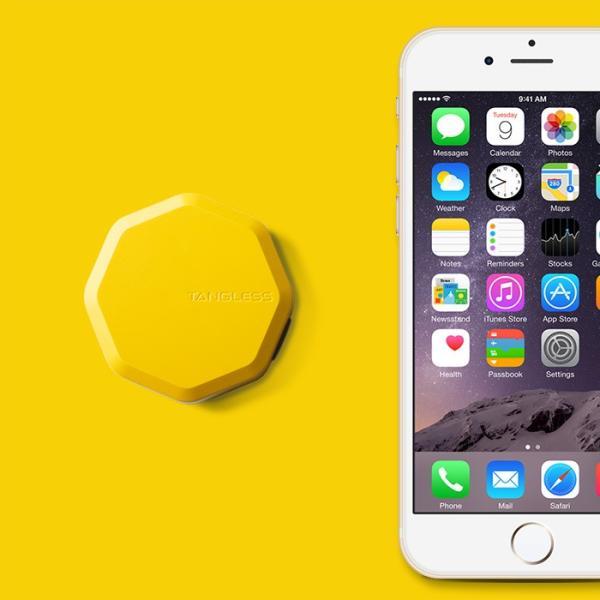Tangless タングレス circle yellow 絡まないコード収納 ケーブル収納|biafactorystore