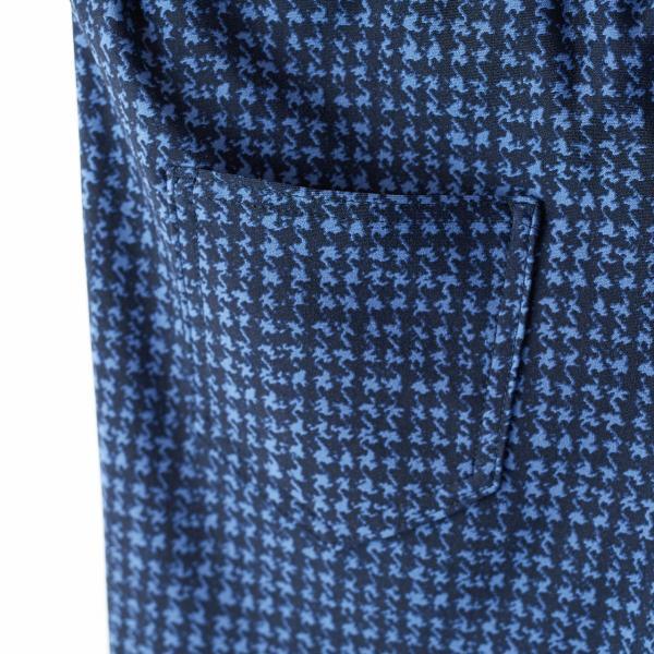 伸縮率150%の美脚レギンスパンツ 【 BIRD BLUE 】VIE DE FLEUR ヴィ・ド・フルール|biafactorystore|06
