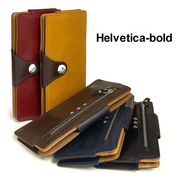 3d4f71642479 ヘルベチカ・ボールド Helveticabold 革ウォレット :helveticaboldha03 ...