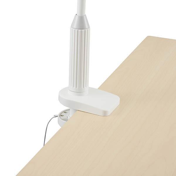 送料無料 オーム電機   OHM   クランプ式 LEDデスクスタンド LTC-LS36-W|bic-shop|04