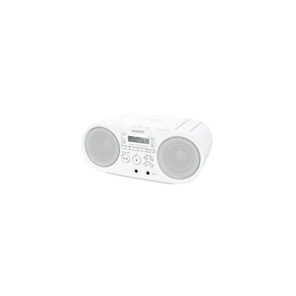 ソニー SONY CDラジオ ホワイト ZS-S40-W