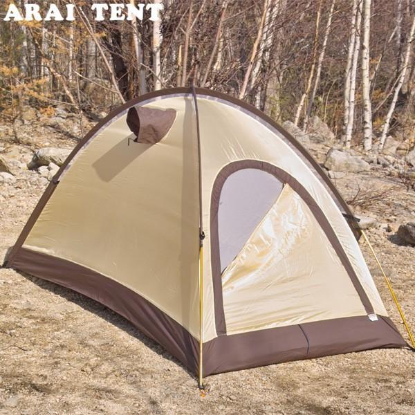 アライテント エアライズ 1 登山 テント アウトドア キャンプ 縦走 1人用(最大2人)テント 3001 ARAI TENT