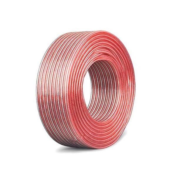 YFFスピーカーケーブル銅とアルミのクラッド鋼素材CCAスピーカーワイヤー(15M-16AWG)