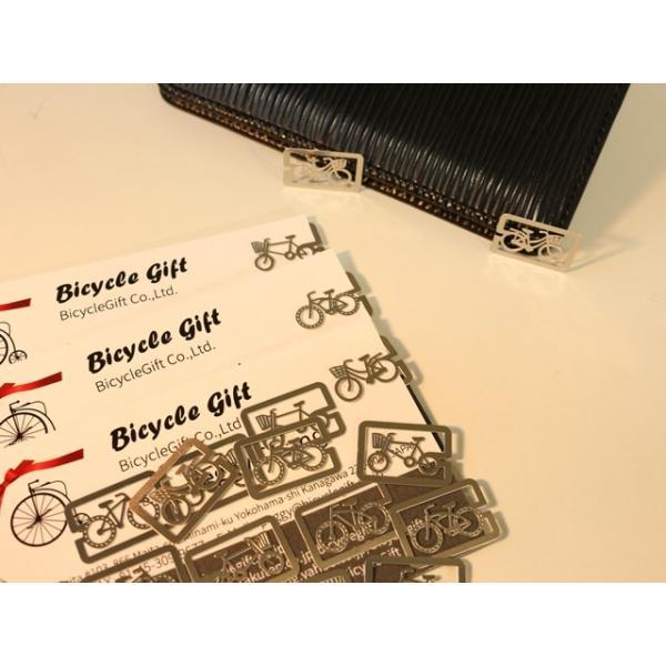 クリップ 自転車柄 自転車 モチーフ クリップ  シンプル おしゃれ しおり 手帳 ノート 文房具 可愛い 自転車雑貨
