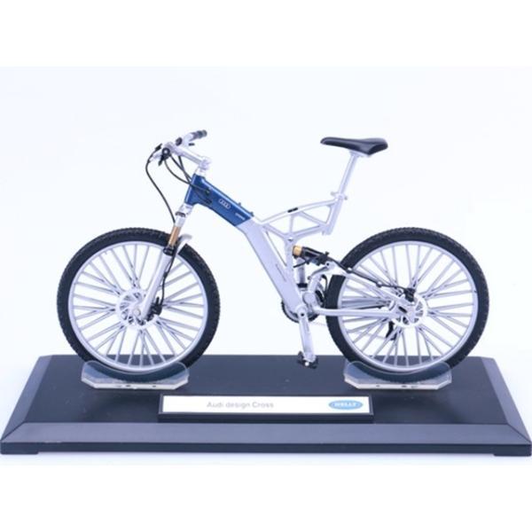 ザッカPAP 10分の1スケール ジャーマン自転車コレクション アウディ マウンテンバイク MTB 自転車模型 ミニチュア レプリカ