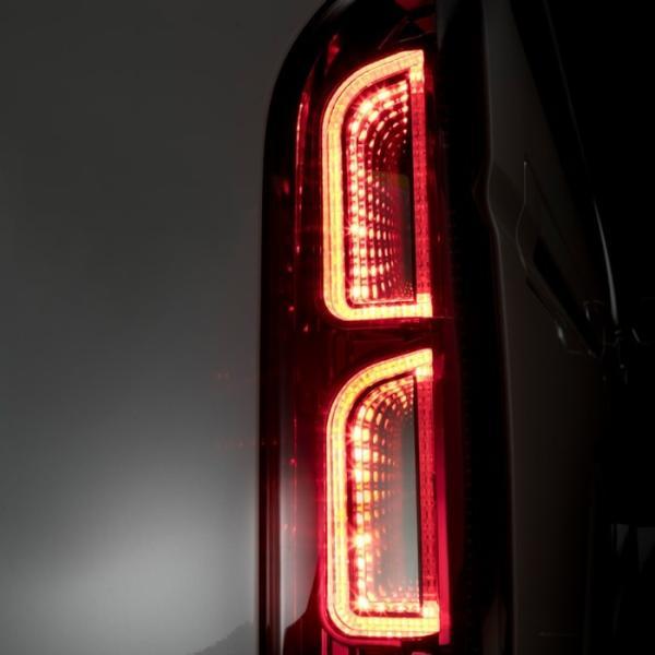 コプラス PLATINUM LED TAIL LAMP US Edition for HIACE プラチナLEDテールランプ USエディション for ハイエース トヨタ LEDテールランプ テールランプ big-dipper7 02