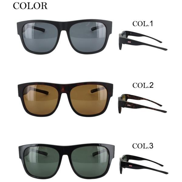 偏光サングラス オーバーグラス スマートタイプ メンズ レディース コールマン COLEMAN COV02 UVカット ドライブ 釣り 紫外線対策 眼鏡使用可|big-market|03