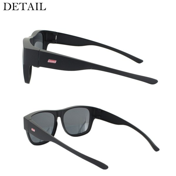 偏光サングラス オーバーグラス スマートタイプ メンズ レディース コールマン COLEMAN COV02 UVカット ドライブ 釣り 紫外線対策 眼鏡使用可|big-market|04