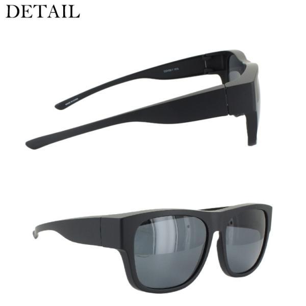 偏光サングラス オーバーグラス スマートタイプ メンズ レディース コールマン COLEMAN COV02 UVカット ドライブ 釣り 紫外線対策 眼鏡使用可|big-market|06