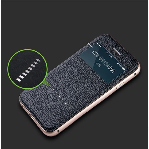 【定形外選択で送料無料※代引は送料有料返品不可】iphone6S iphone6 手帳型 iphone6 2WAY 革 アルミバンパー 2WAY SPC-L007|big-market|05