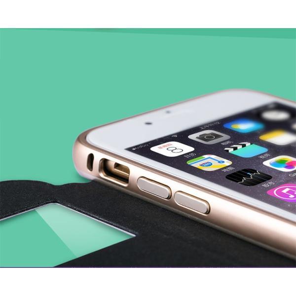 【定形外選択で送料無料※代引は送料有料返品不可】iphone6S iphone6 手帳型 iphone6 2WAY 革 アルミバンパー 2WAY SPC-L007|big-market|06