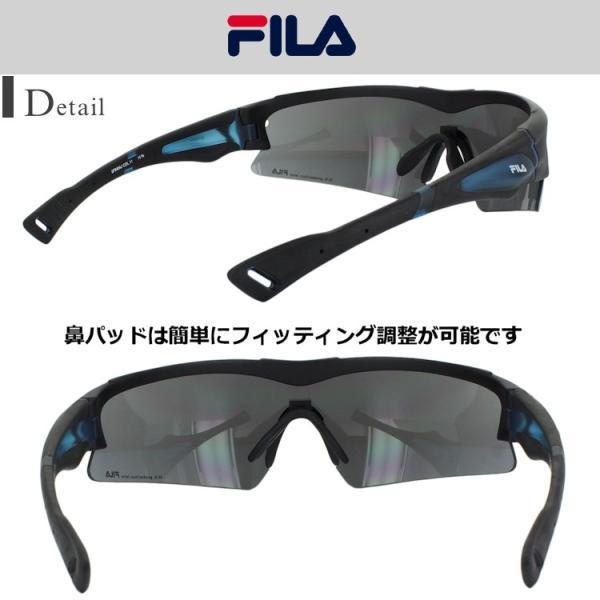 b306b194452 ... サングラス メンズ FILA スポーツサングラス UVカット 紫外線カット SF6404J 一眼レンズ 野球 ランニング|big ...