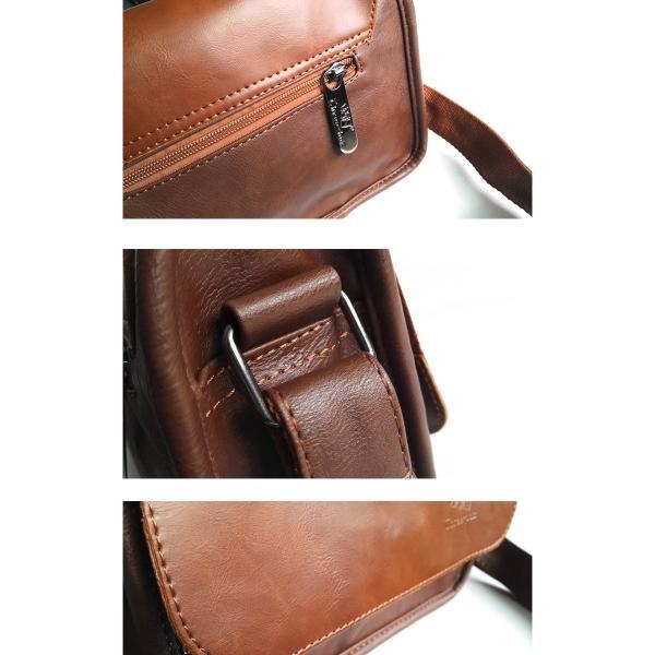 ショルダーバッグ メッセンジャーバッグ メンズ カジュアル 斜めがけバッグ 斜めがけ 通勤 新作 シンプル ワンショルダー バッグ レディー|bigbangfellas|05
