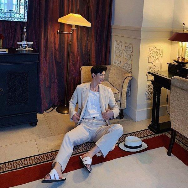 コロニアルカラー デザインスーツ アイボリー デザイナーズスーツ 上下セット 2ピース 休日 都会 リゾート ホスト パーティー 結婚式 二次会 モー|bigbangfellas|15
