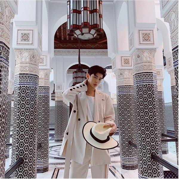 コロニアルカラー デザインスーツ アイボリー デザイナーズスーツ 上下セット 2ピース 休日 都会 リゾート ホスト パーティー 結婚式 二次会 モー|bigbangfellas|10